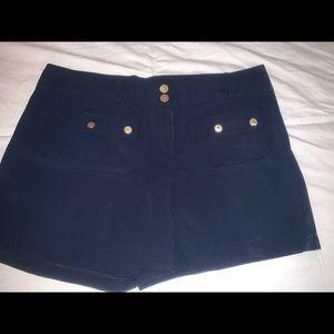 Cache navy blue shorts size 8